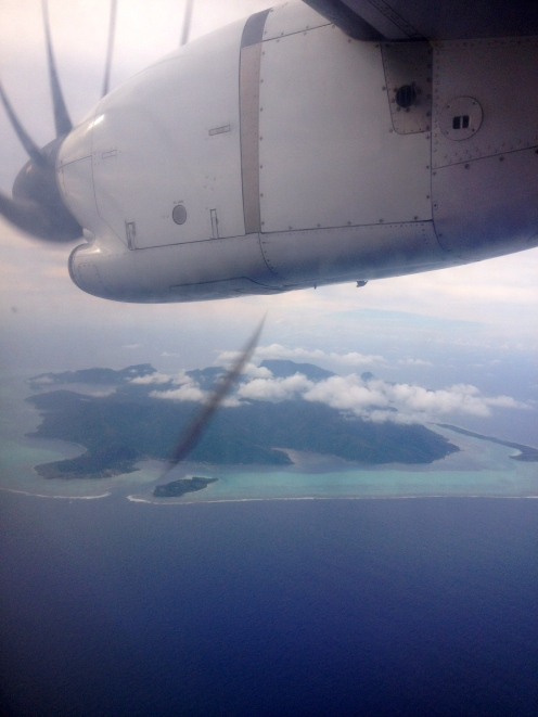 Huahine, a stop on our way to Bora Bora