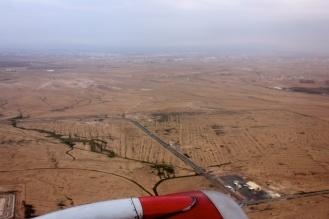 Flying into Aqaba from Amman
