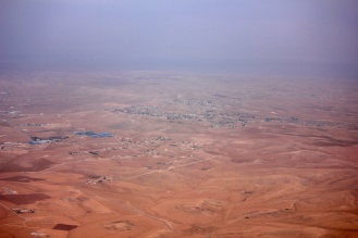 Approaching Aqaba from Amman
