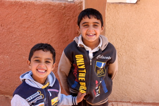 Zeyd (7 years old) and Abdullah (9 years old). Jameel (cute).