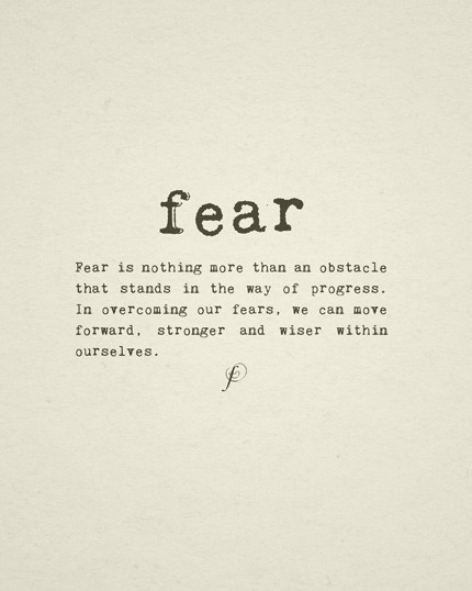 Quotes-Fear