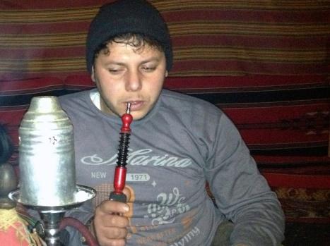 Ibrahim and his nightly ritual