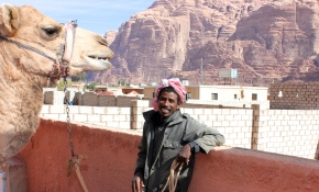 Abu Baka - Our Camel Guy.